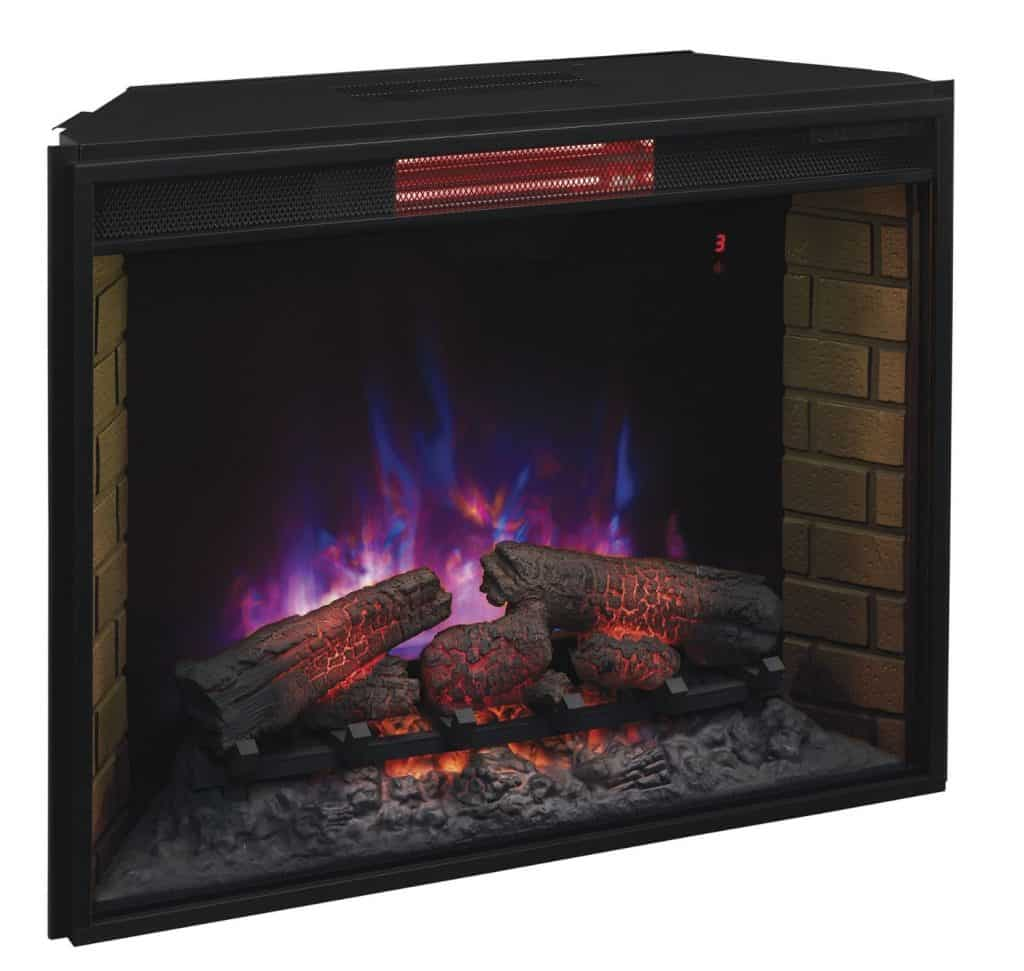 25 Fireplace Decorating Ideas With Gas Logs Electric Logs