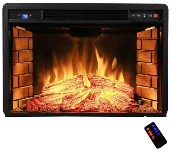 Electric Fireplace Inserts with Heater