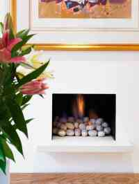 25 Fireplace Decorating Ideas with Gas Logs, Electric Logs ...