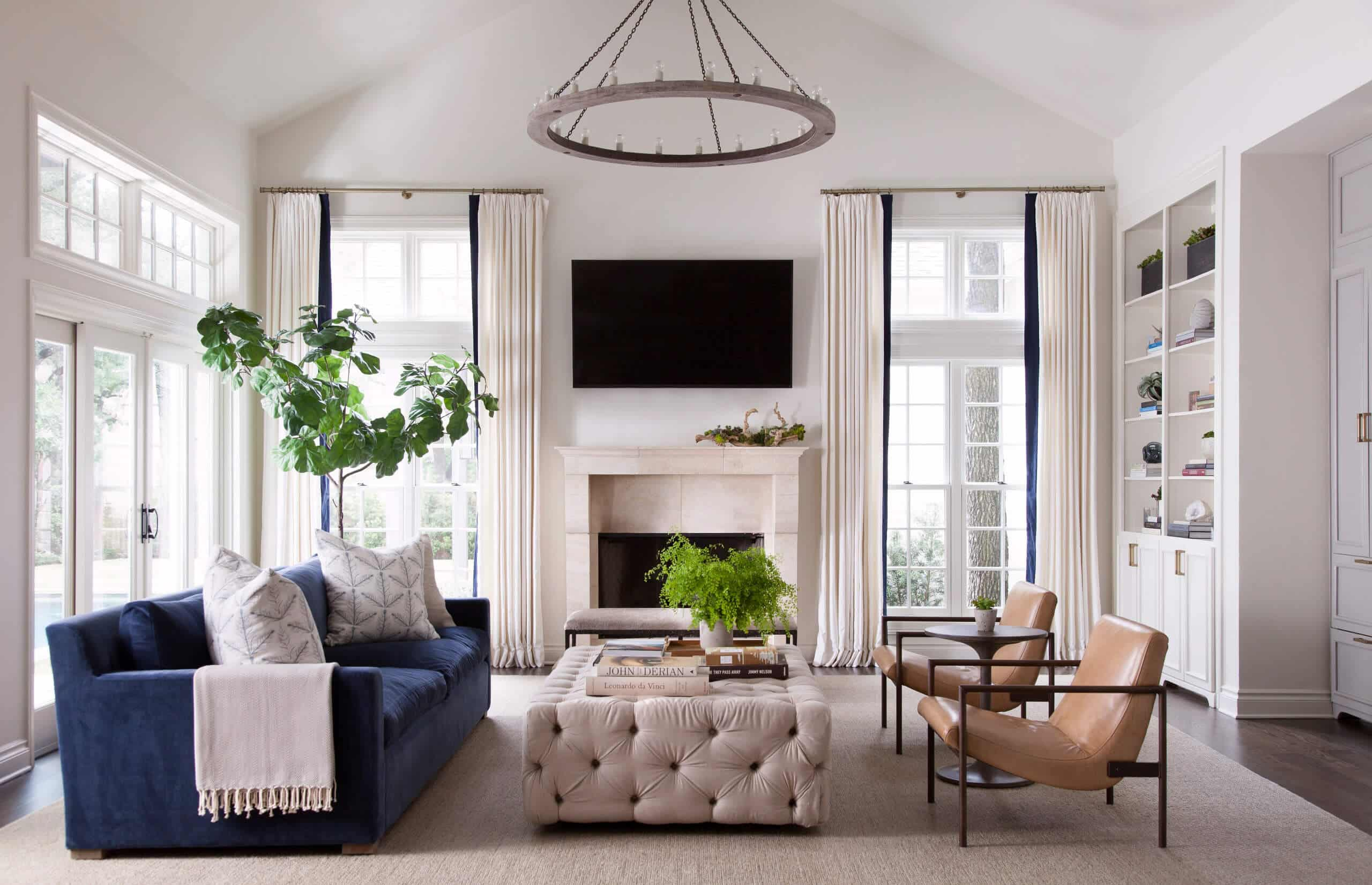 What Is The Average Size Of A Living Room Answered By Decor Snob