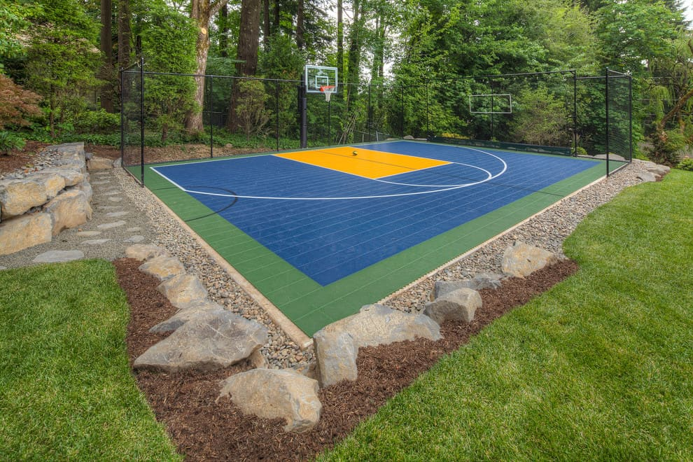 Tips to Make Your Own Basketball Court [Stencils, Layouts