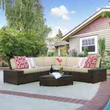 Tips & Ideas Choosing Outdoor Wicker Furniture