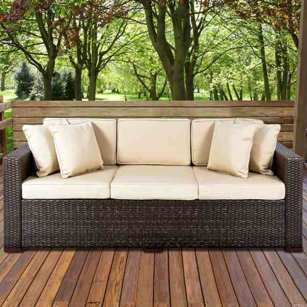 outdoor wicker patio furniture 50 Ideas for Choosing the Best Outdoor Wicker Furniture