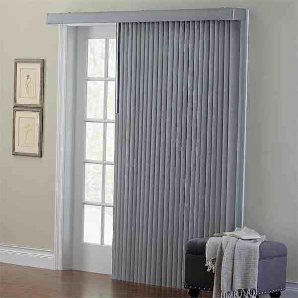 Vertical Blinds Sliding Glass Door Window