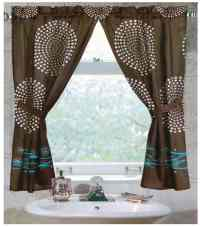 Tips & Ideas for Choosing Bathroom Window Curtains (WITH ...