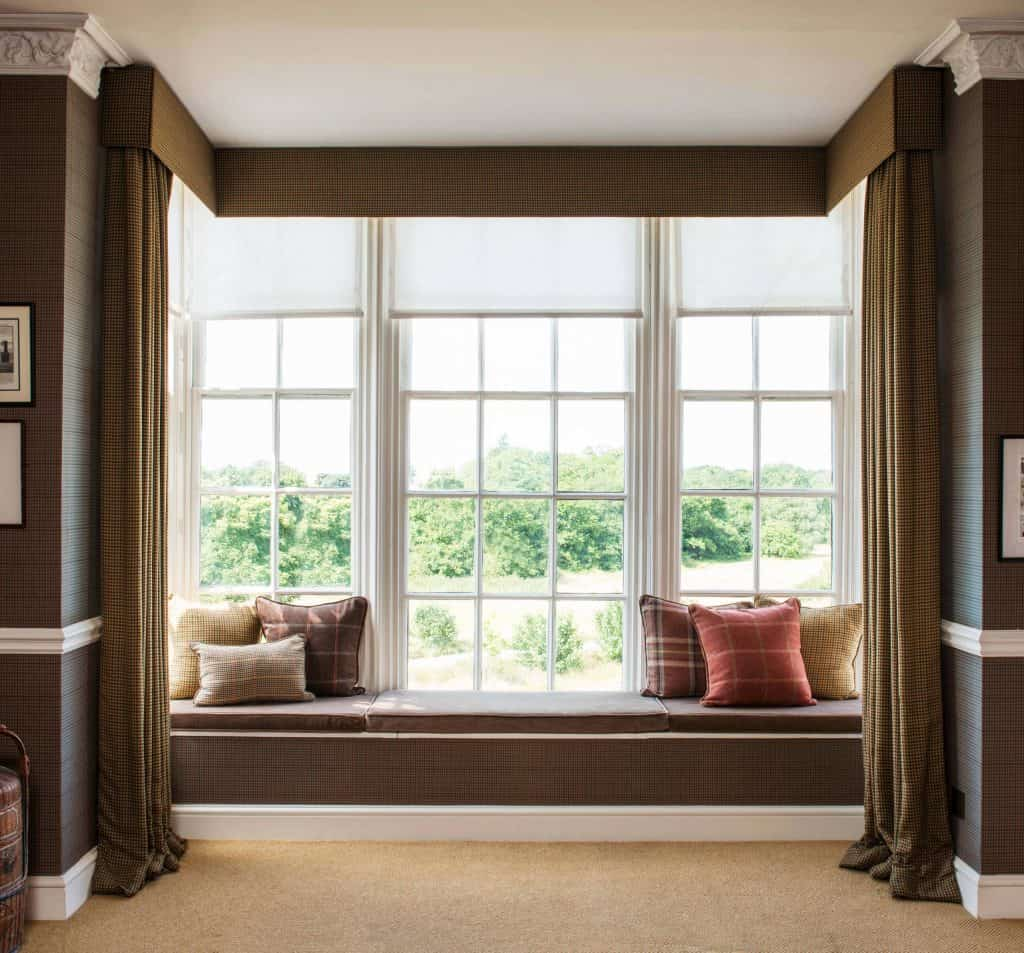 How to Choose the Best Bay Window Curtains  Decor Snob
