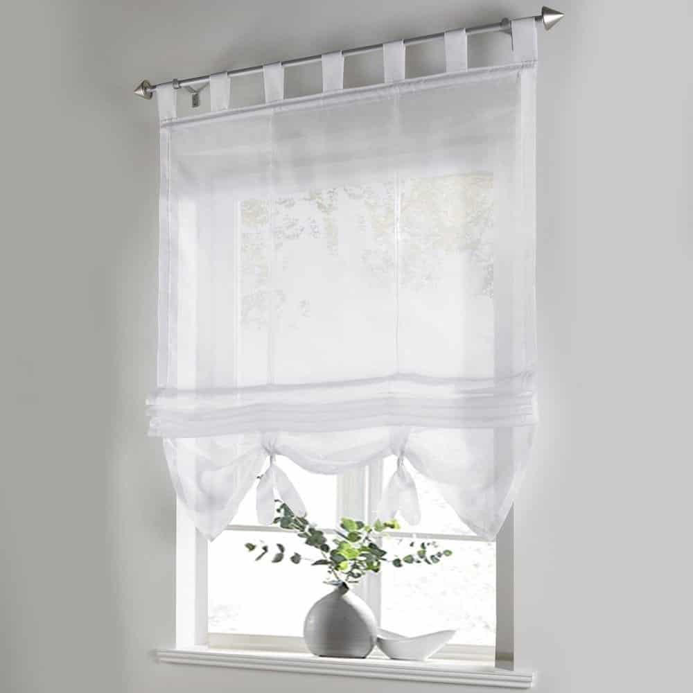 Tips  Ideas for Choosing Bathroom Window Curtains WITH