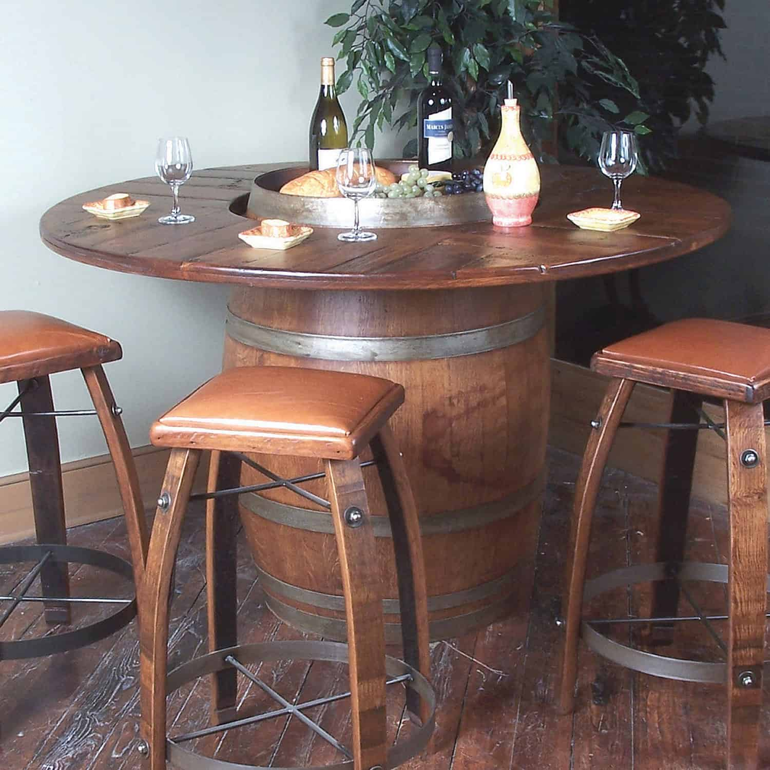 old wooden barrel chairs chair and a half recliners leather 135 wine furniture ideas you can diy or buy photos
