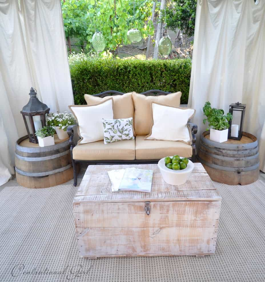 modern twine curved arm sofa dump old 135 wine barrel furniture ideas you can diy or buy photos