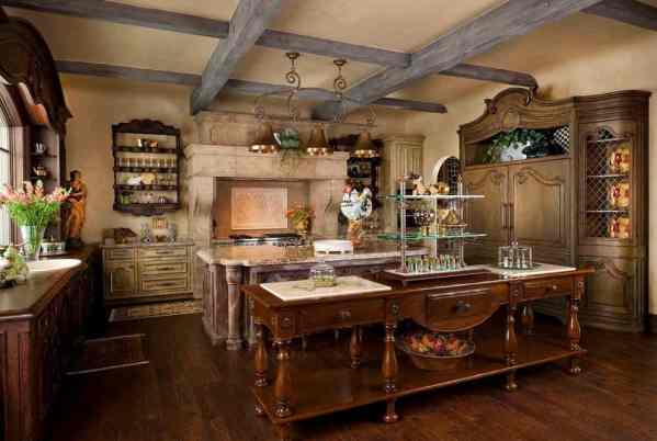 french country kitchen decor French Country Decor Ideas and Photos by Decor Snob