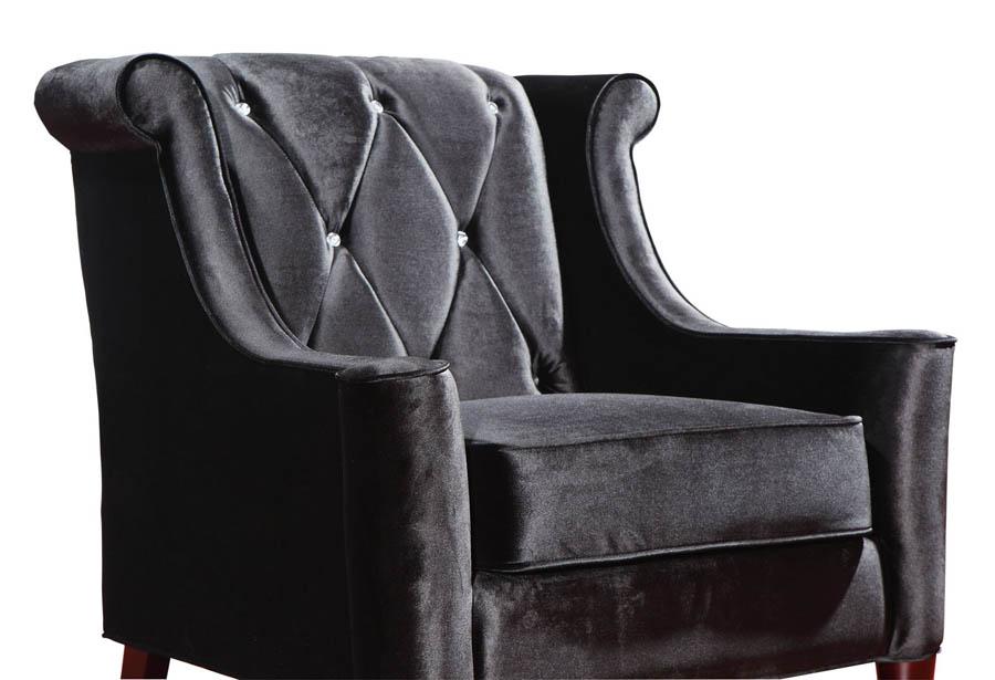 black velvet chair step stool barrister crystal lc8441black decor south