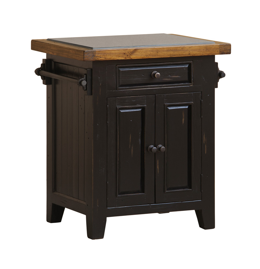 poker table with chairs revolving chair repair in jaipur tuscan retreat granite top kitchen island (black & oxford finish) - [5267-855w] : decor south