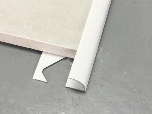 aluminum quarter round tile edging trim