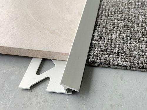 aluminum tile to carpet transition