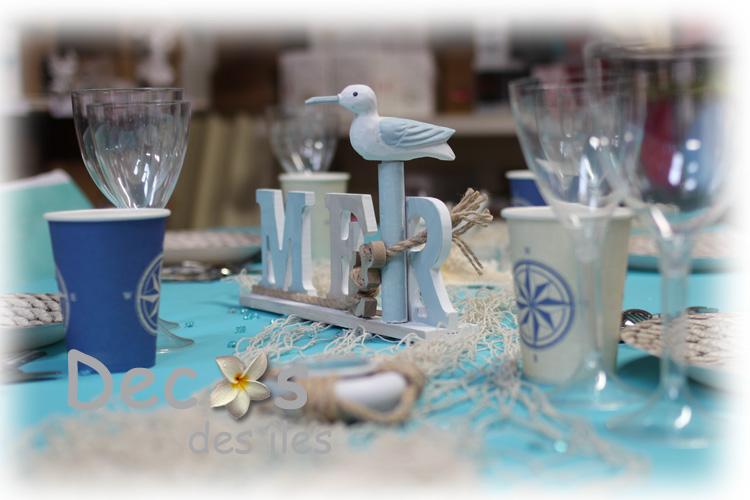 decoration mariage sur les iles et la