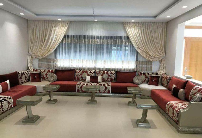 decoration salon marocain moderne 2020