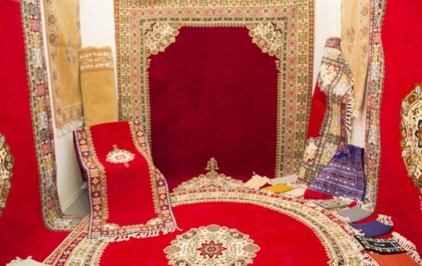 tapis pour salon marocain traditionnel