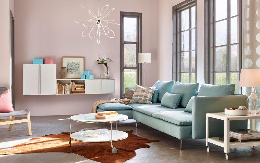 Saln moderno Ikea con muebles modulares  Imgenes y fotos
