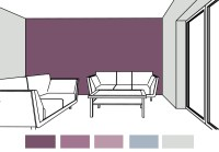 Would violet be a good paint color choice for the living ...