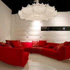 Red Sofa White Living Room Curtains Ideas Pictures What Curtain Color Goes With Design Interior Idea Marcel