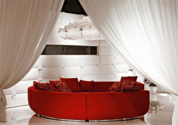 red couch living room photos leather decorating ideas what curtain color goes with sofa design interior idea marcel