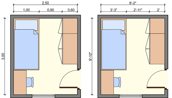 Bedroom Furniture Layout Square Room layout for small bedroom ~ descargas-mundiales