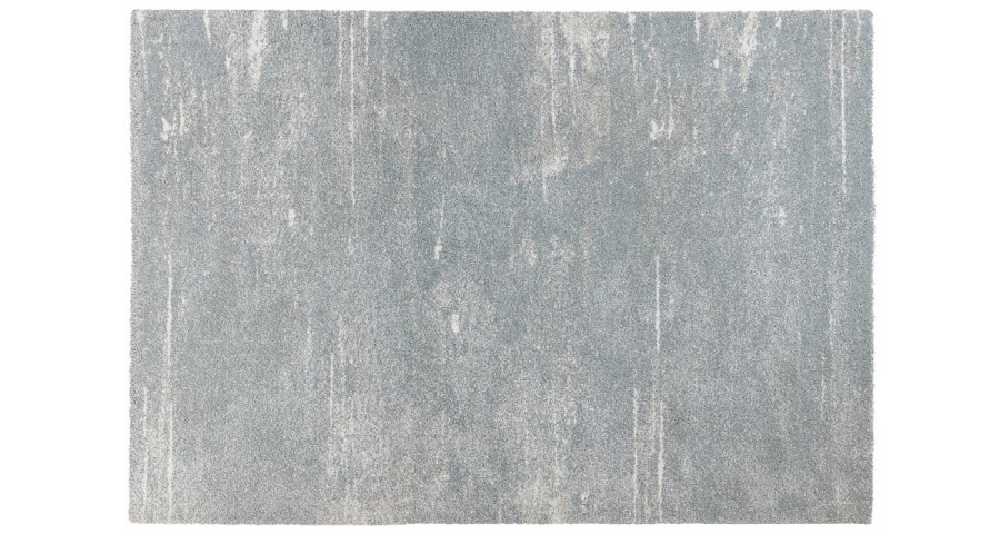 tapis 160 x 230 cm bleu clair effet use stream