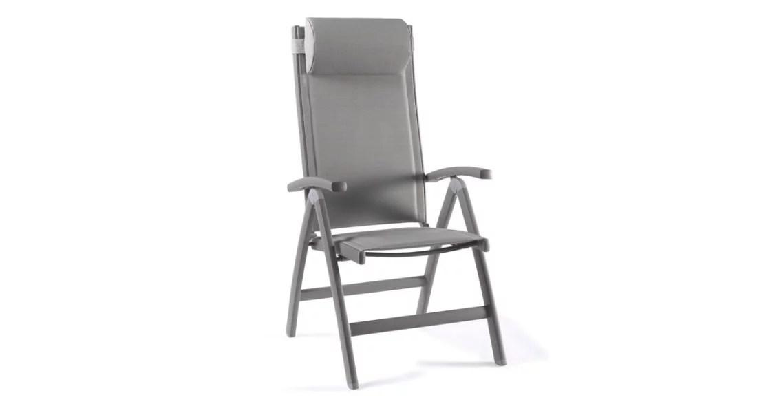 fauteuil jardin avec dossier inclinable