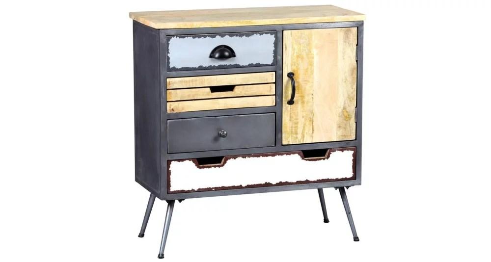 cabinet en metal et bois faktory