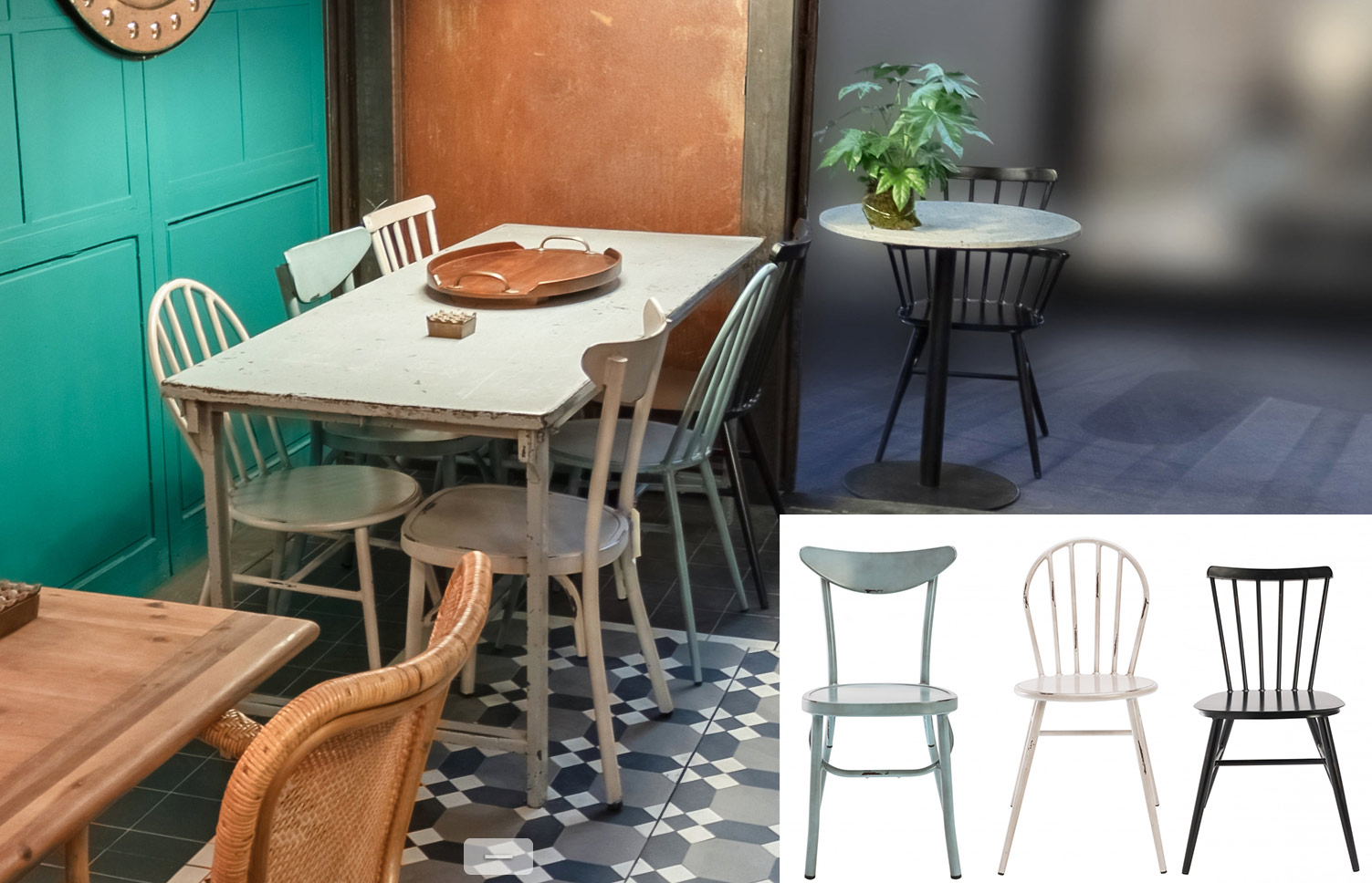 l indemodable chaise bistrot un look