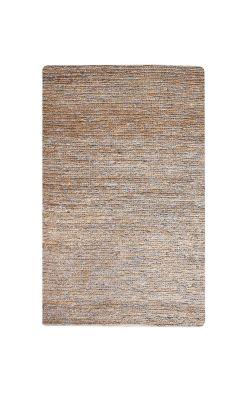 tapis parry tisse main fibres naturelles gris 60x90