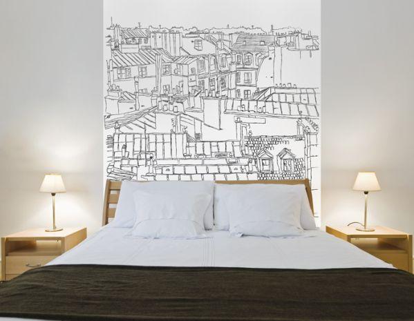 Papier peint Vue urbaine 68x100  Dcoration  decotaimefr