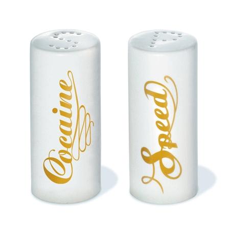 La salière et la poivrière design Speed & Coke