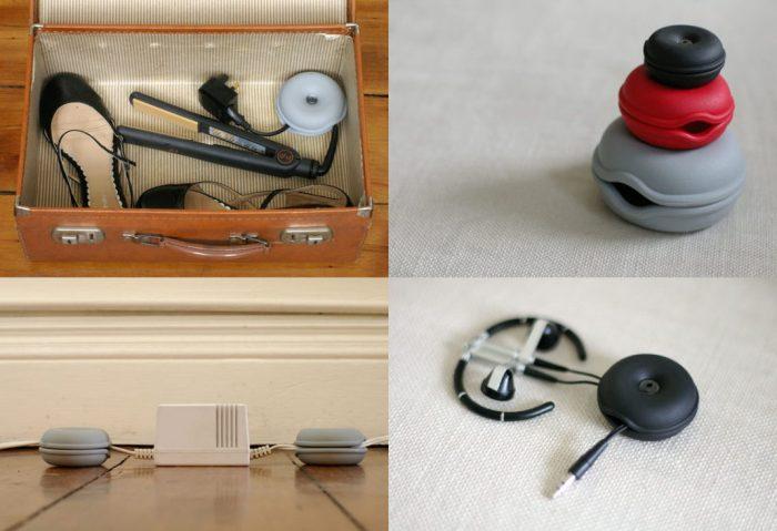 Solutions déco et design pour ranger et cacher les câbles Cable Tortule Organizer