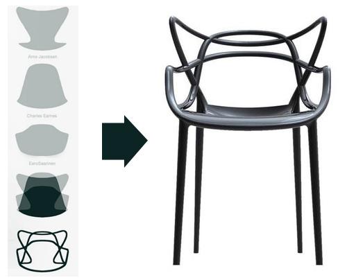 La chaise Masters de Philippe Starck 1