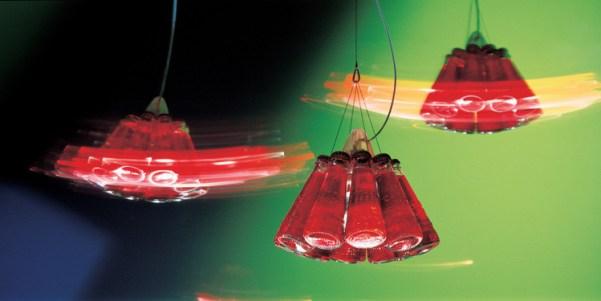 Lampes design -Campari Light