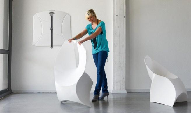 fauteuil pliable design Flux