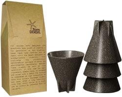 Tasses design -Les tasses biodégradablesEco Cup deTom Dixon