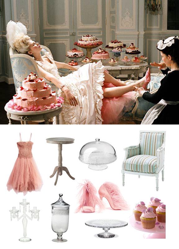 Déco du film Marie Antoinette