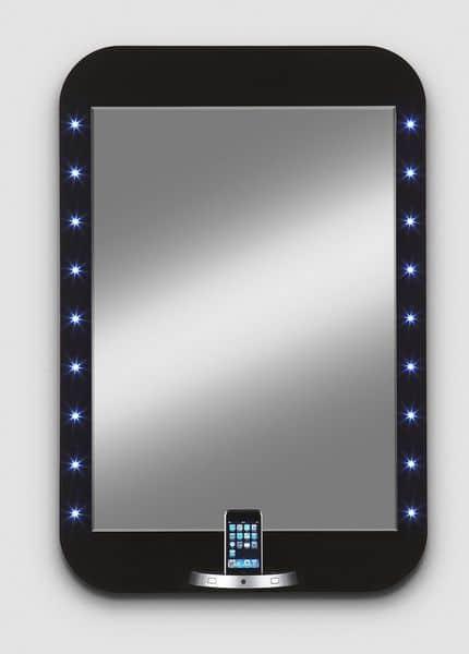 Miroirs design - eMIRROR le premier mirroir pour Ipod et Iphone