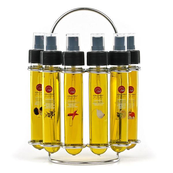 farandoles de vinaigres balsamiques et d'huiles