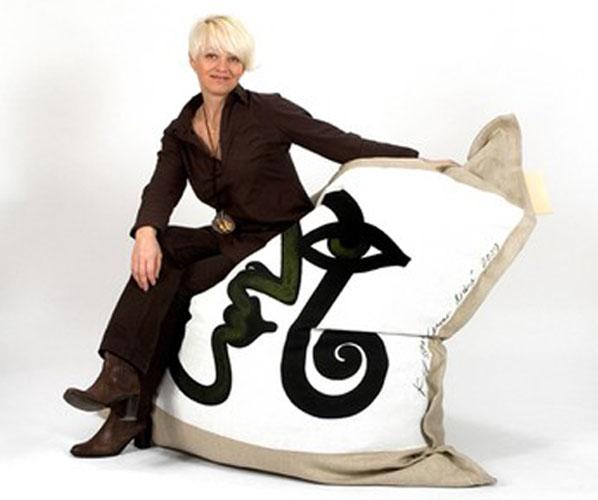 Les coussins décoratifs géants design et écolo Kyssen