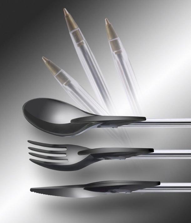 Couverts design- Transformez vos stylos en couverts avecDin-ink