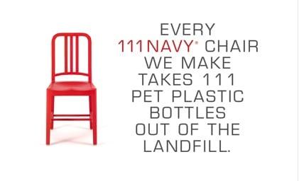 chaise Navy 111 Coca-Cola Emeco