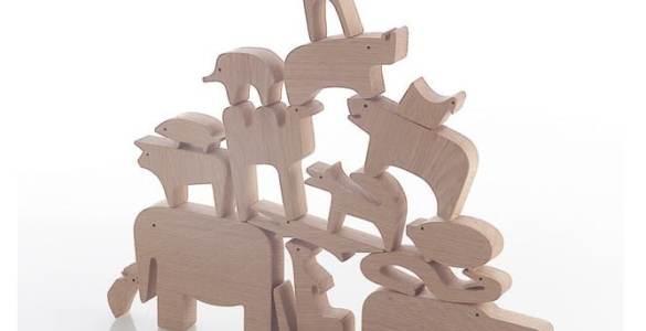 Puzzle 16 animali Enzo Mari