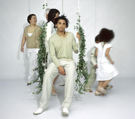 Swing With The Plant balançoire Marcel Wanders