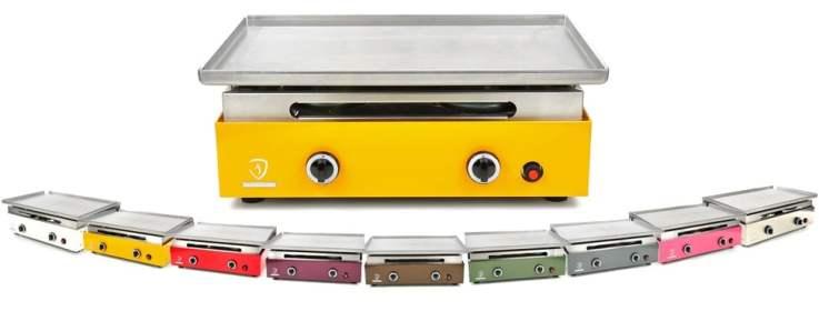Verycook planchas colorées