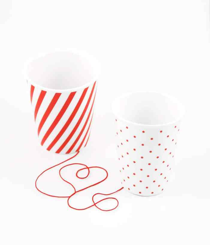 Tasses design -Les tasses Never Apart