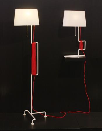 Le lampadaire design Stan by Samuel Treindl