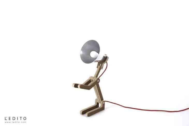 lampe waaf Pierre Stadelmann designer